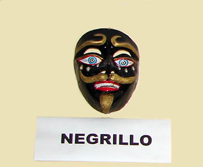 MASCARA NEGRILLO